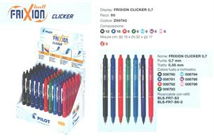 PILOT EXPO PENNA FRIXION CLICKER 0,7 60PZ Z99740
