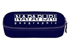 NAPAPIJRI HAPPY PENCIL CASE ORGANIZER BLU MARINE N0YID4176