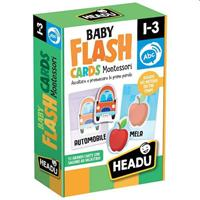 HEADU BABY FLASHCARDS MONTESSORI 21666