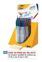 PENNA BIC CANCELLABILE GEL-OCITY EXPO DA 28 COL ASS 943462 483
