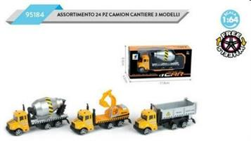 CAMION CANTIERE SCALA 1:64 DAL NEGRO 095184