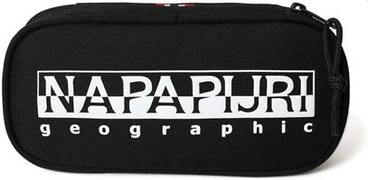 NAPAPIJRI HAPPY PENCIL CASE RE ORGANIZER 2 BLACK NP0A4EUF0411