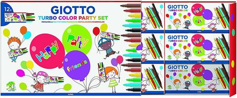 PENNARELLI GIOTTO TURBO COLOR PARTY SET 314000