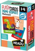 HEADU BABY FLASHCARDS MONTESSORI PRIME SCOPERTE 23097