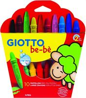 GIOTTO BEBE' PASTELLI CERA AS10PZ CF6 466800