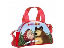 MASHA E ORSO BOWLING BAG BOY NATURE POLYEST.MULTICOLOR R92511MC