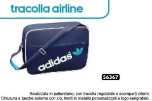 TRACOLLA ADIDAS AIRLINER BLU 56367